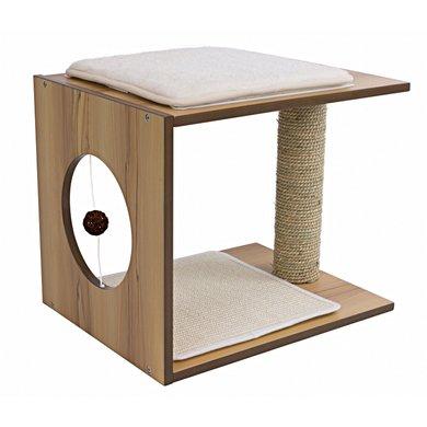 Vesper V-stool Bruin 46,5x37x37cm