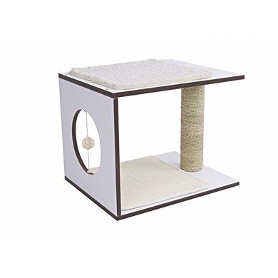 Vesper V-stool Wit 46,5x37x37cm