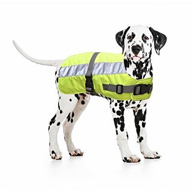 Duvo+ Flectalon Hi Vis Dog Jacket Geel
