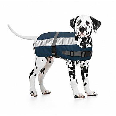 Duvo+ Flectalon Hi Vis Dog Jacket Blauw