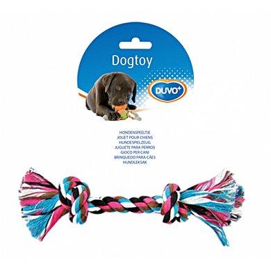 Duvo+ Dogtoy Knoop Katoen Gemengde Kleuren S/20cm