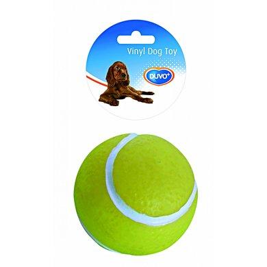 Duvo+ Dogtoy Vinyl Tennisbal Geel Ø10,5cm