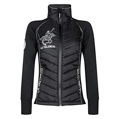La Valencio Vest Ivanka Zwart XS