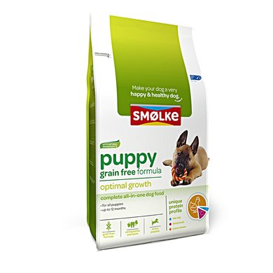 Smolke Hond Puppy Graanvrij 12kg