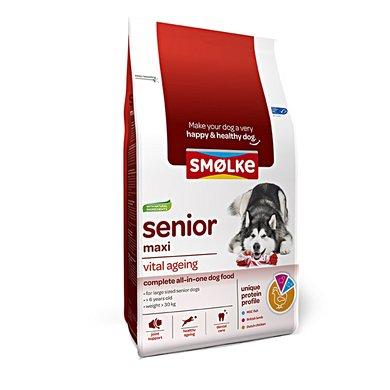 Smolke Hond Senior Maxi 12kg