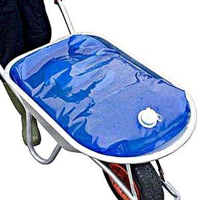 """H2go bag Wasserbehälter für Schubkarren """"H2GoBag"""" Blau 80L."""