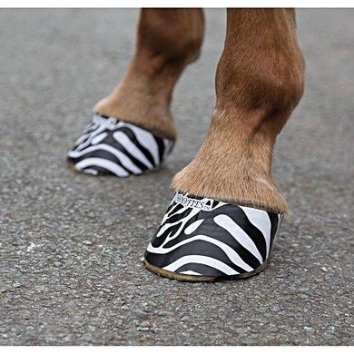 Shires Hoef Stickers Hoofies Zebra