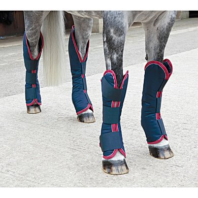 Shires Transportbeschermers Navy/Red/White