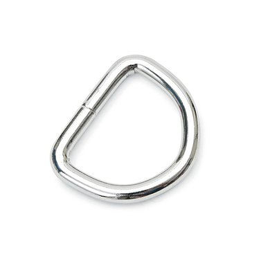 Shires D Ring Silver