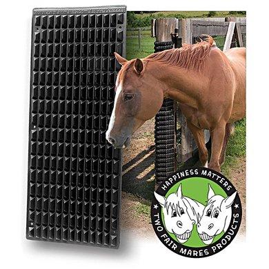 Shires Equine Scratcher Black 64cmx 28cm