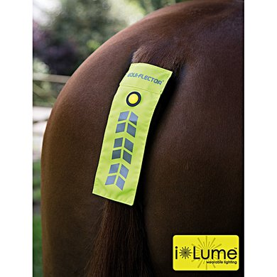 Equi-Flector Reflecterende Staart Flap Yellow
