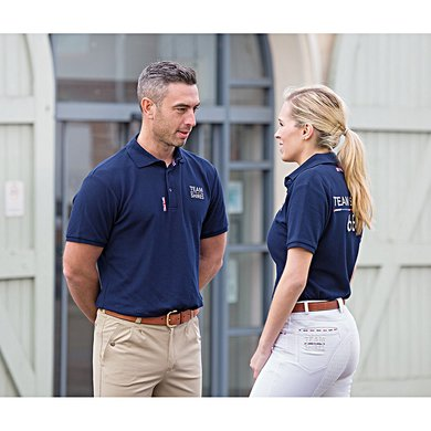 Team Shires Polo Shirt Heren Navy