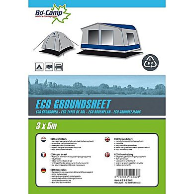 Bo-Camp Gronddoek Eco Zwart 3 x 5m