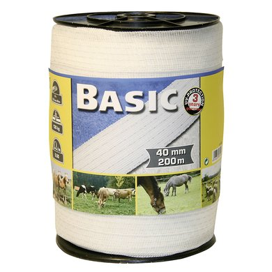 Ako Weidezaunband Basic Weiß