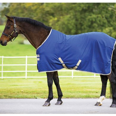 Mio Stable Rug Light Navy/Tan