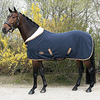 Harrys Horse Teddyfleece Rug 1/2 Neck Blue