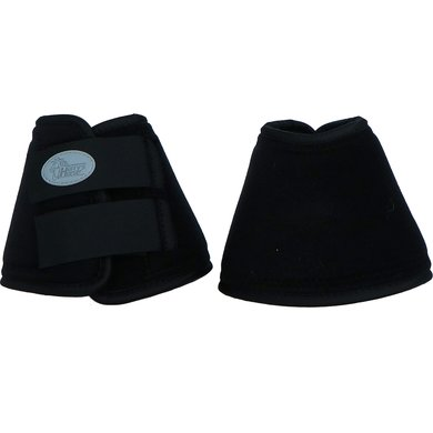 Harrys Horse Neoprene Bell Boots Brushed Black