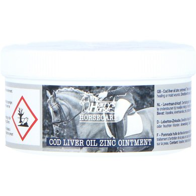 Harrys Horse Levertraan-zinkzalf 250 Ml