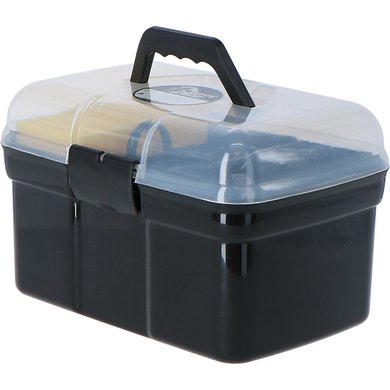 Harrys Horse Grooming Box Complete Black