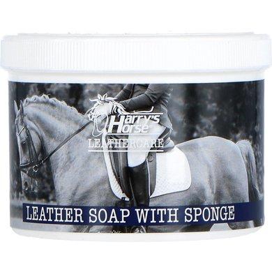 Harrys Horse Lederzeep met Spons