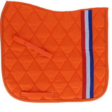 Harrys Horse Tapis de Selle de Dressage Dutch Orange Full Dr