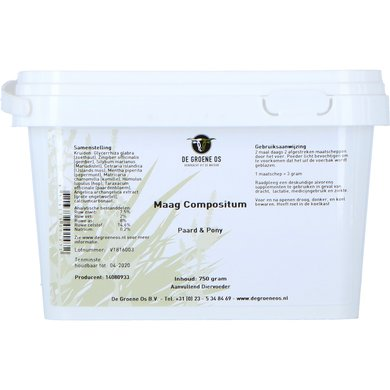 Groene Os Maag Compostium Papo 750gr