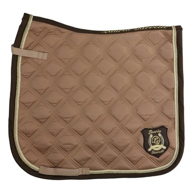 HKM Saddle Cloth Gol. G. Taupe