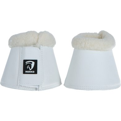 Horka Cloches d'Obstacles Fourrure Blanc