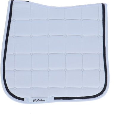 BR Saddlepad Dressage Xcellence White/Stone Full