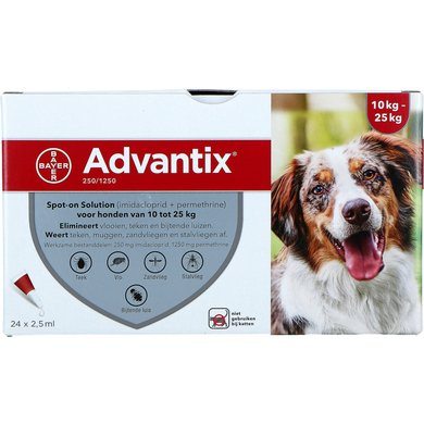 Advantix 250/1250 Spot-On Hund 10-25kg