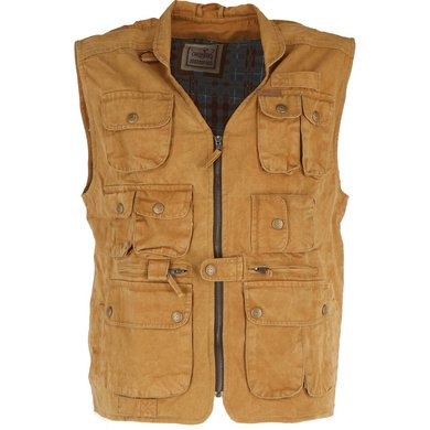 Scippis Canvas Vest Murray Mosterd