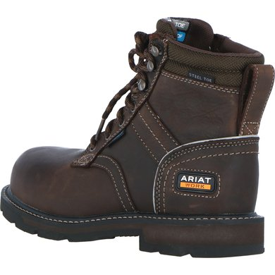 9299acd0821 Ariat Safety Boots Groundbreaker 6 H20 EN Iso D Mens Brown