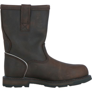 cc919d7b803 Ariat Safety Boots Groundbreaker 10 Steel Toe EN Iso D Mens Brown