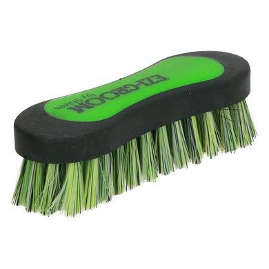 Ezi Groom Hoofd Borstel Lime Green S