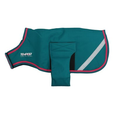 Shires Hondenjasje Waterproof Sea Green/Pink