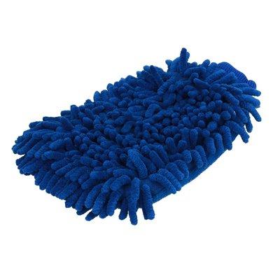 Shires Putzhandschuh Microfasern Blau