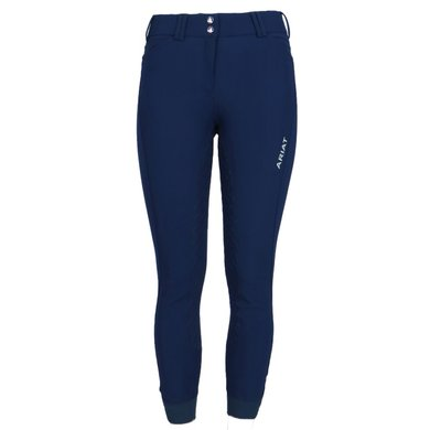 Ariat Breeches Tri Factor Ladies Grip Full Seat Navy