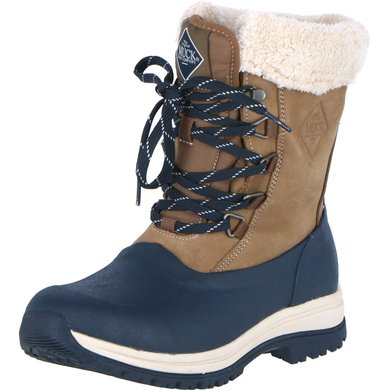 Muck Boot Arctic Lace Mid Leather Blue/Navy