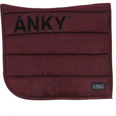 Anky Saddlepad Velvet General Purpose Bordeaux Full