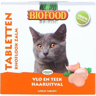 Biofood Kattensnoepjes Zalm Anti-vlooien 100st