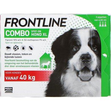 Frontline Combo Spot-On Hond XL 40-60kg 3 Pipetten