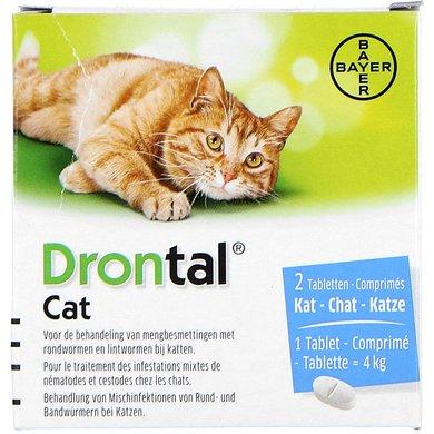 Drontal Wurmtabletten Katze 2 Tabl