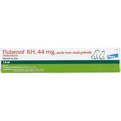 Flubenol KH Ontwormingspasta Injector Hond/Kat 7,8ml