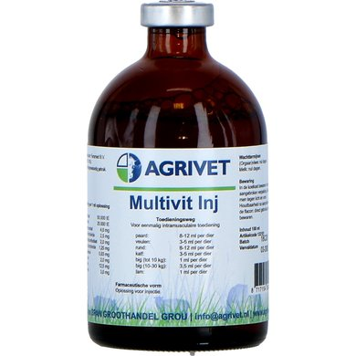 Agrivet Multivitamine Injectie 100ml