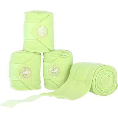 Impulz Fleece Bandages Easy Going 4 Pieces Light Green