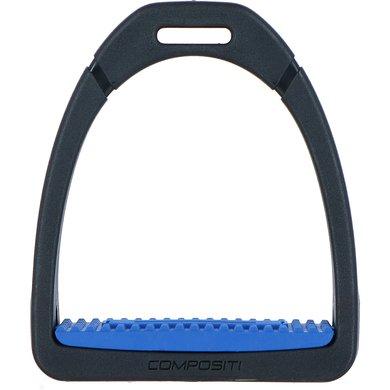 Compositi Steigbügel Profile Premium Blau