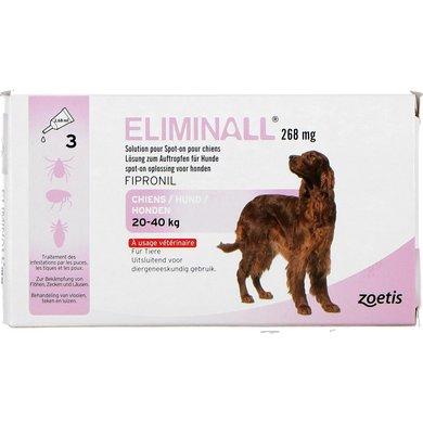 Eliminall Spot-on Hond L 20-40kg 3 Pipetten