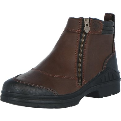 Ariat Jodhpur Barnyard Side Zip Marron foncé 40