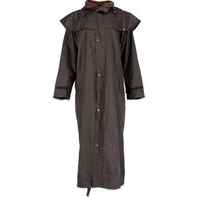 Black Roo Stockman Coat Bruin