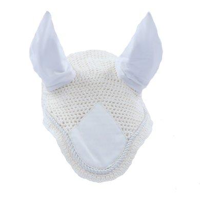 Kavalkade Oreilles Anti-Mouches avec Corde Décorative Blanc Full